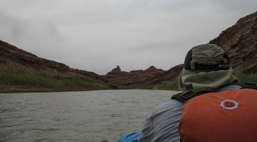 Mexican Hat Rock - San Juan River